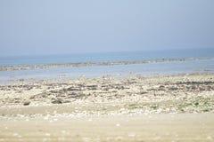 Playa agradable en Inglaterra Imagen de archivo libre de regalías