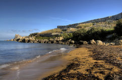 Playa aislada foto de archivo libre de regalías