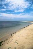 Playa aislada Foto de archivo