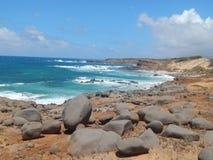 Playa aislada de Hawaii foto de archivo libre de regalías