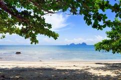 Playa aislada de Sabai en la isla de Mook Fotos de archivo libres de regalías