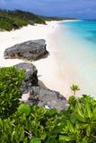 Playa alejada en Japón Imágenes de archivo libres de regalías
