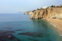 Playa Alicante del paraíso Fotos de archivo