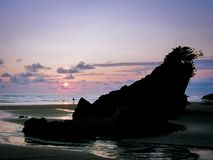 Playa Almejal, EL Valle, BahÃa Solano, ³ de ChocÃ, Colombie Photographie stock