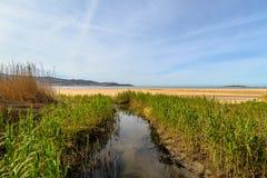 Playa Amérique - Nigran - la Galicie Images stock