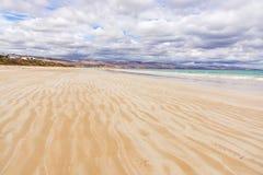 Playa ancha en Australia foto de archivo libre de regalías