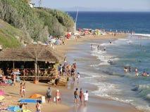 Playa andaluz Canos de Meca foto de archivo
