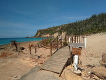Playa Aquadillia Puerto Rico de Borinquen imágenes de archivo libres de regalías