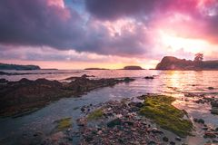 Playa Aramar, Antromero image stock