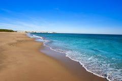 Playa Arenal en Hospitalet del Infant photo libre de droits