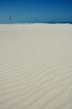 Playa arenosa blanca Imagenes de archivo