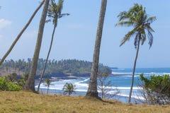 Playa arenosa sin tocar Foto de archivo