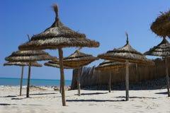 Playa asoleada foto de archivo libre de regalías