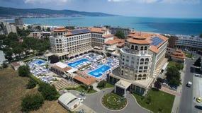 Playa asoleada, Bulgaria fotos de archivo libres de regalías
