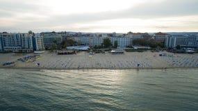 Playa asoleada, Bulgaria imágenes de archivo libres de regalías