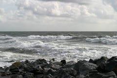 Playa atlántica Imágenes de archivo libres de regalías