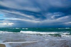 Playa atlántica, la Florida, los E.E.U.U. Imagenes de archivo