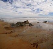 Playa atlántica los E.E.U.U. Fotografía de archivo