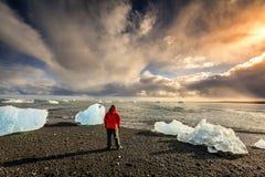 Playa atlántica septentrional Foto de archivo libre de regalías