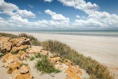 Playa Australia de ochenta millas fotografía de archivo libre de regalías