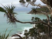 Playa australiana foto de archivo libre de regalías