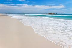 Playa australiana Fotografía de archivo libre de regalías