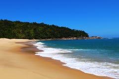 Playa azul fotografía de archivo libre de regalías