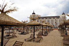 Playa búlgara foto de archivo libre de regalías