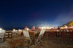 Playa Bali Indonesia de Jimbaran fotografía de archivo