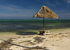 Playa Belice imagen de archivo