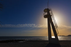 Playa Benissero Muntanyar Javea Xabia in Alicante Stockfoto
