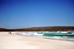 Playa blanca Fotografía de archivo libre de regalías