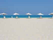 Playa blanca Imagen de archivo