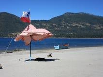 Playa BLANCA Stockfotografie