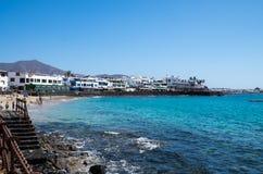 Playa BLANCA Lizenzfreies Stockbild