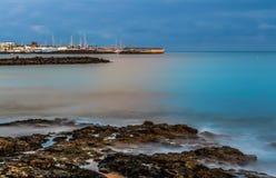 Playa Blanca Royaltyfri Bild