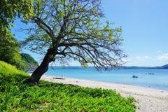 The Playa Blanca beach in Peninsula Papagayo, Costa Rica Stock Image