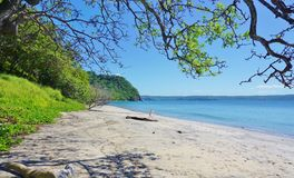 The Playa Blanca beach in Peninsula Papagayo, Costa Rica Royalty Free Stock Photo