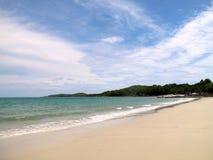 Playa blanca en la KOH Samed, Tailandia Fotografía de archivo libre de regalías
