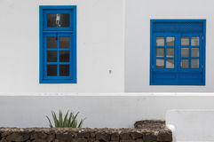 Playa BLANCA-Farben Stockfotografie
