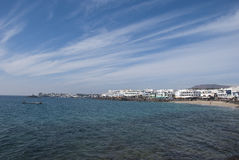 Playa Blanca Lanzarote Royalty Free Stock Photo