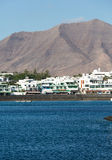 Playa Blanca on Lanzarote. Stock Image