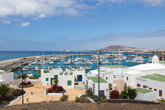 Lanzarote. Playa Blanca in Lanzarote, Canary islands, Spain Stock Image