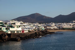 Playa Blanca, Lanzarote, Spain Stock Image