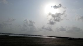 Playa Bombay de Gorai imágenes de archivo libres de regalías