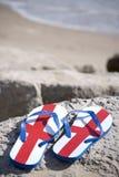 Playa británica Foto de archivo libre de regalías
