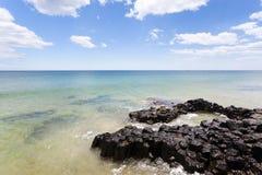Playa Bunbury del faro fotografía de archivo