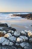Playa Bunbury del faro Fotos de archivo