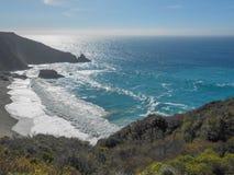 Playa California de Big Sur Fotos de archivo