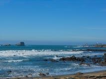 Playa California de Big Sur Foto de archivo libre de regalías